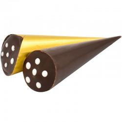 """Цукерки шоколадні """"Стріла"""" з ніжною помадно-кремовою начинкою з додаванням коньяку, 1 кг., Житомирські Ласощі"""