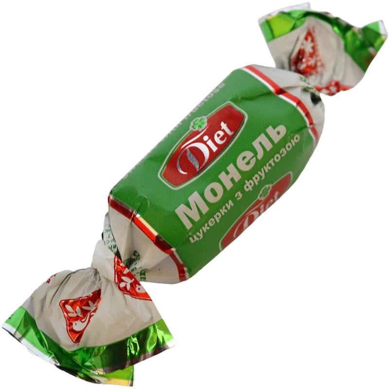 """Цукерки шоколадні """"Монель з фруктозою"""", 1 кг., Житомирські Ласощі"""