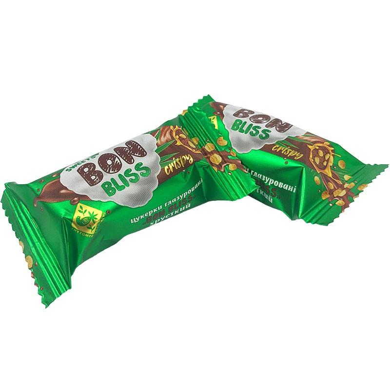 "Конфеты шоколадные ""Bon Bliss crispy"", 1 кг., Житомирські Ласощі"