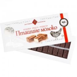"""Подарунковий набір шоколадних цукерок """"Пташине молоко"""" кондитерської фабрики """"Житомирські Ласощі"""""""