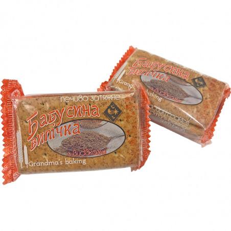"""Печенье затяжное с отрубями """"Бабусина випічка"""", 1 кг., Житомирські Ласощі"""