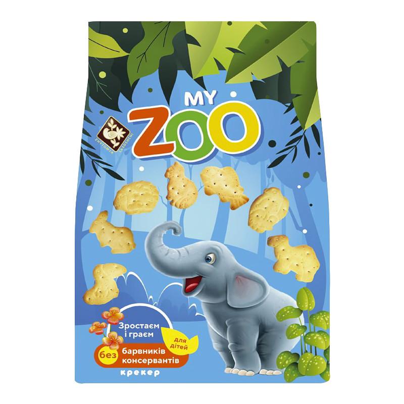 """Крекер """"Мій зоопарк"""", 250 г., Житомирські Ласощі"""