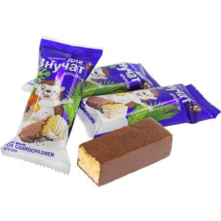 """Конфеты шоколадные """"Для внучат"""" со сливочным вкусом, 1 кг., Житомирські Ласощі"""